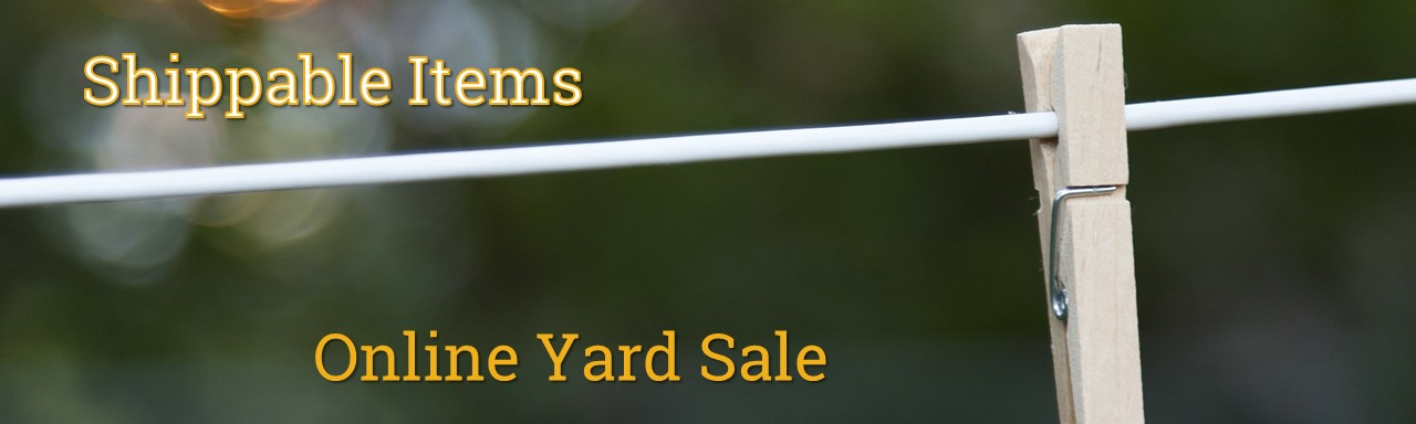 Online Yard Sale - Shippable Items