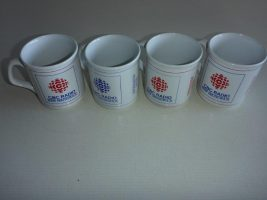 Vintage 4 CBC NB mugs
