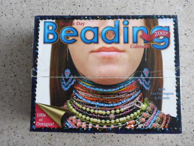2007 beading calendar
